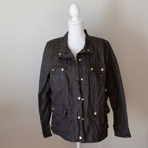 J.Crew Downtown Field Jacket Green Size Large